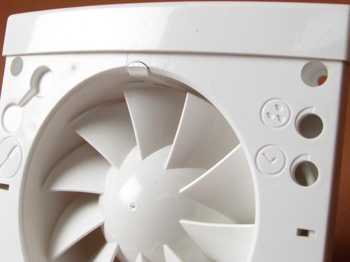 wandventilator l fter ventilator sehr leise bad wc hygro timer zeitschalter ebay. Black Bedroom Furniture Sets. Home Design Ideas